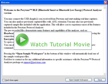 Perytons User Manual
